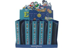 ALBUM EURO COIN DISNEY